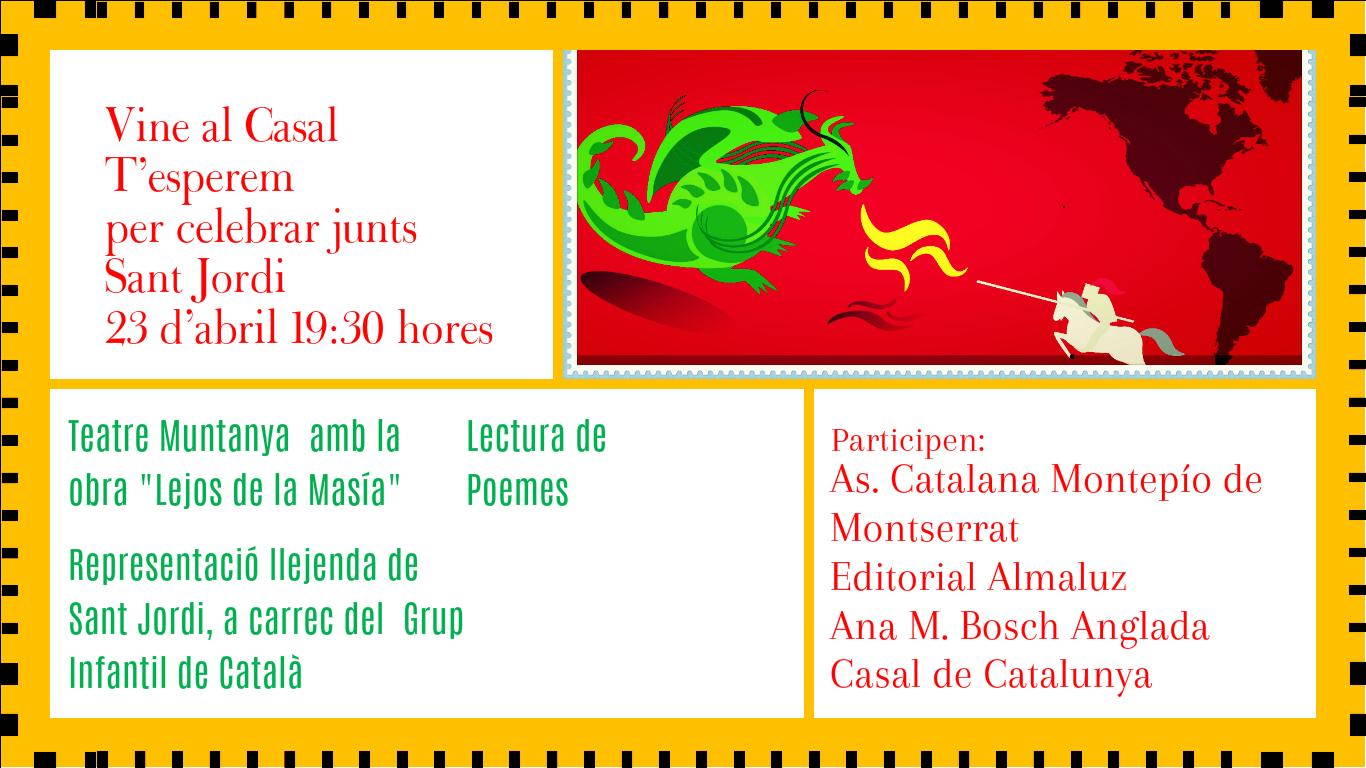23 de Abril: Sant Jordi